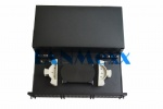 Fiber optic slidable patch panel-ODF-RS-2U6AP-A1